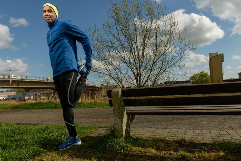Kleurportret van langeafstandsloper Mustapha Lamhouh